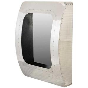 Industry Design Spiegel in Silberfarben Aluminum beschlagen