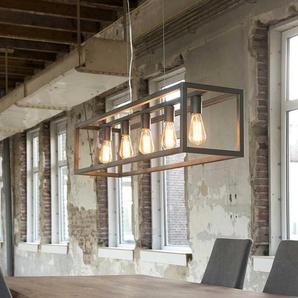 Industry H�ngelampe aus Metall Silber