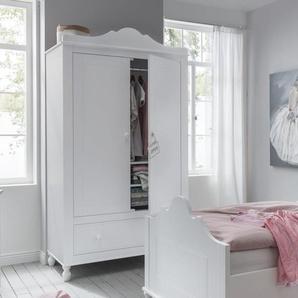 INFANSKIDS Klaudia Kinderzimmer Kleiderschrank 119x205x60cm