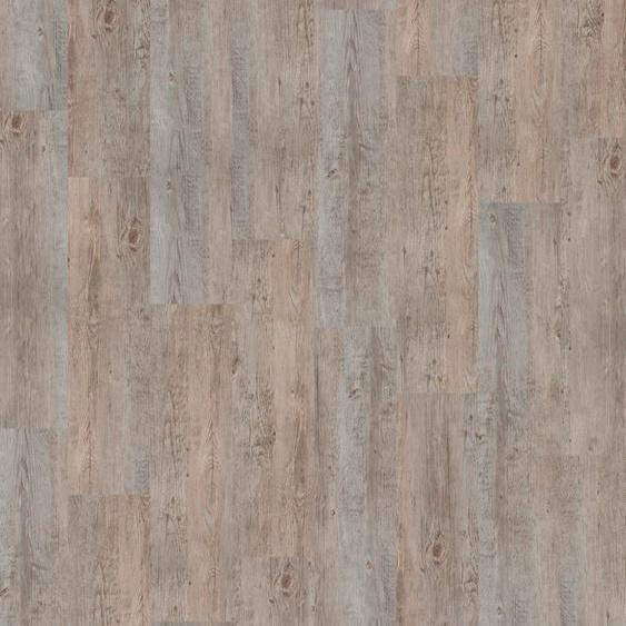 Infloor Teppichfliese Velour Holzoptik Vintage grau, rechteckig, 6 mm Höhe, 14 Stück, 4 m², 25 x 100 cm, selbsthaftend, für Stuhlrollen geeignet B/L: cm St. grau Teppichfliesen Bodenbeläge Bauen Renovieren