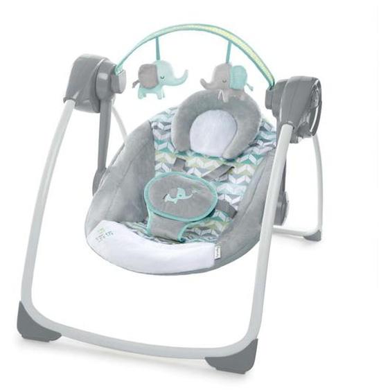 Ingenuity Babywippe Jungle Journey Grau K60674