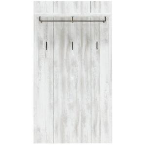 Innostyle Garderobenpaneel, Weiß, Kunststoff