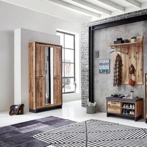 Innostyle Garderobenschrank »Prato« mit Spiegeltür