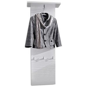 Innostyle Life Garderobenpaneel  50x29x150cm Weiß Glanz