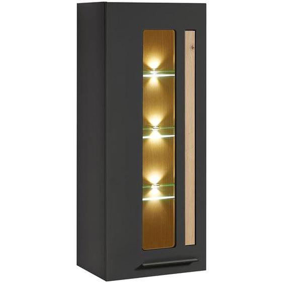 Innostyle Loft Two Hängevitrine mit Beleuchtung 52x37x128cm
