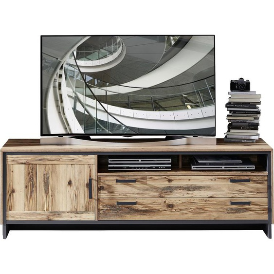 TV-Board »Prato«, 184x61x45 cm (BxHxT), Innostyle, grau, Material Holzwerkstoff, Spanplatte, Kunststoff, Metall, Soft-Close-Funktion