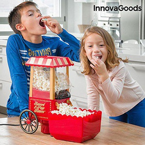 innovagoods ig114772Popcornmaschine, 1200W, Rot
