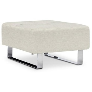 INNOVATION Hocker, Natural, Stoff