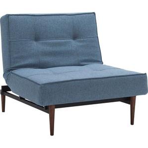 INNOVATION™ Sessel »Splitback«, mit dunklen Styletto Beinen, in skandinavischen Design