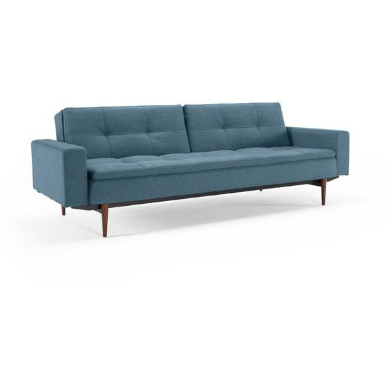 INNOVATION Schlafsofa, Blau, Stoff