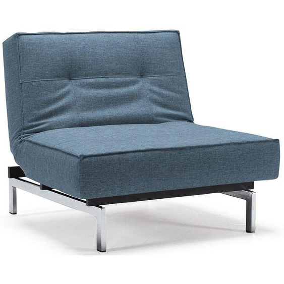 INNOVATION LIVING ™ Sessel »Splitback«, mit chromglänzenden Beinen, in skandinavischen Design