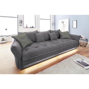 INOSIGN Big-Sofa , grau, 295cm, »Palladio«
