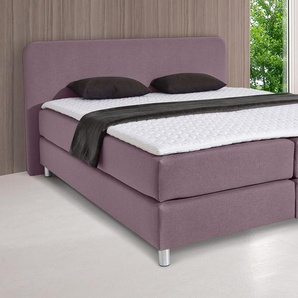 Inosign  Boxspringbett  »Flair«, 180x200 cm, inkl. Topper, lila