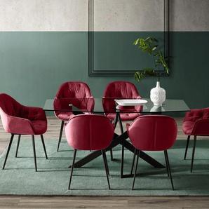 INOSIGN Esszimmerstuhl »Junko«, 2er-Set in modernem Design