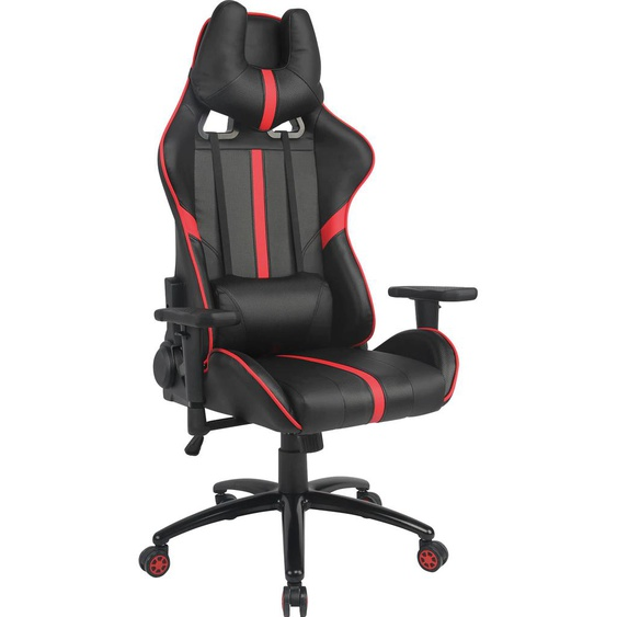 INOSIGN Gaming Chair B/H/T: 70 cm x 127 cm, Kunstleder schwarz Gamingstühle Bürostühle Stühle Sitzbänke