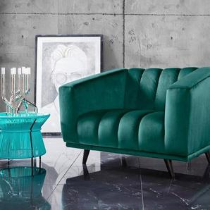 INOSIGN Loveseat »Rimini«, mit ungewöhnlicher Steppung in modernem Design