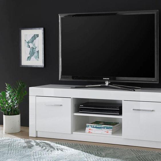 INOSIGN Lowboard Chicago B/H/T: 153 cm x 49 43 cm, Anzahl weiß TV-Regale HiFi-Regale Regale Kleinmöbel