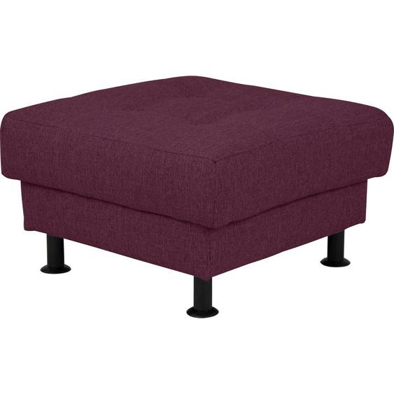 INOSIGN Polsterhocker Bengo Struktur lila Hocker Nachhaltige Möbel