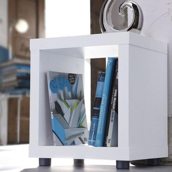 Regalwürfel »1x1«, 43x43x35 cm (BxHxT), FSC®-zertifiziert, INOSIGN, Material Holzwerkstoff, Kunststoff