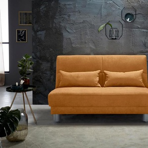 schlafsofas in orange preise qualit t vergleichen m bel 24. Black Bedroom Furniture Sets. Home Design Ideas
