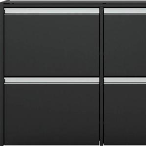 INOSIGN Schuhschrank Skyline, Breite 153 cm B/H/T: x 71 18 schwarz Schuhschränke Garderoben