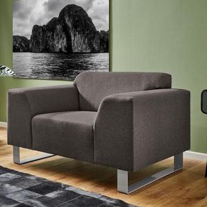 INOSIGN Sessel »Bingo«, mit Metall-Fußgestell