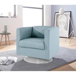INOSIGN Sessel »Bob«, drehbar mit Tellerfuß