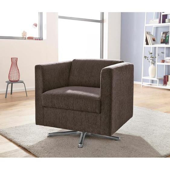 INOSIGN Sessel Bob Struktur braun Hocker SOFORT LIEFERBARE Möbel