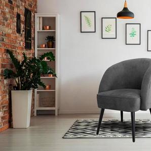 INOSIGN Sessel »Caren«, mit Keder, auch als Speisemöbel verwendbar
