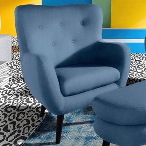 INOSIGN TV-Sessel, blau, strapazierfähig