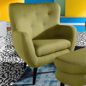 INOSIGN TV-Sessel, grün, strapazierfähig