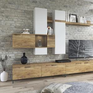 INOSIGN Wohnwand Alternative Einheitsgröße beige Wohnwände