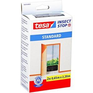 Insect Stop Standard Türfliegengitter anthrazit 220 x 65 cm 2 Stück