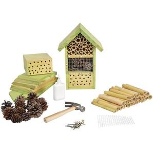 Insektenhotel Zum Selber Basteln 14,4x18,5x26,5cm Komplett Bastel Set