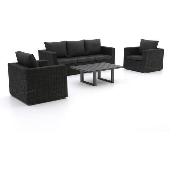 Intenso Carpino/Bolano Sessel-Sofa Lounge-Set 4-teilig
