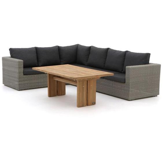Intenso Carpino/ROUGH-L Sessel-Sofa Lounge-Set 4-teilig links