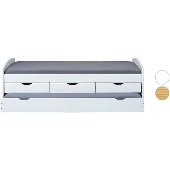 Inter Link Funktionsbett »Marinella« oder »Ulli«, inklusive Lattenrost, 3 Schubladen