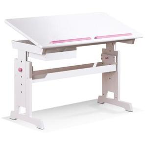 Inter Link Schreibtisch ,Weiß ,Holz
