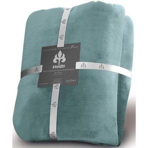 Irisette Wohndecke »Castel 8900«, 150x200 cm, pflegeleicht, trocknergeeignet, blau, aus 100% Polyester