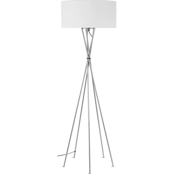 its About RoMi,Stehlampe Lima 1 -flg. / Ø60 cm, H:170 cm weiß Standleuchten Stehleuchten Lampen Leuchten