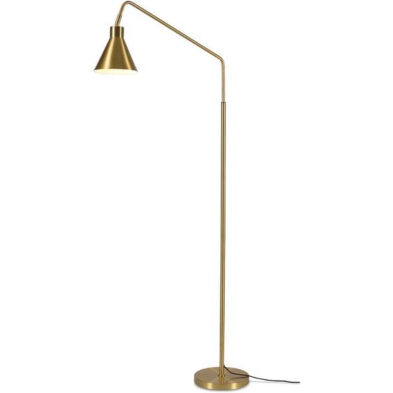 its About RoMi,Stehlampe Lyon 1 -flg. / Ø82 cm, H:153 cm goldfarben Standleuchten Stehleuchten Lampen Leuchten