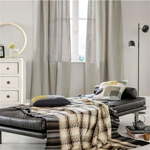 Jacquarddecke Nova - bunt - Baumwoll-Wollmix - Tagesdecken & Quilts - Überwürfe & Sofaüberwürfe