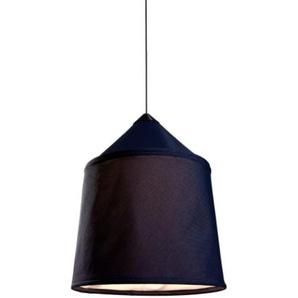 Jaima 43 COB LED-Pendelleuchte, 15 W, 2700 K, mit Schirm aus Textilene, Gestell aus Edelstahl, Blau, 43 x 43 x 50 cm (A683-001)