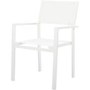 Jan Kurtz - Stuhl Cubic weiß-weiß - outdoor