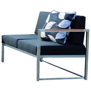 Jan Kurtz - Lux Lounge 2 Sitzer - rechts - taupe - outdoor