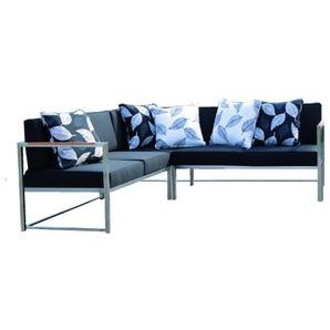 Jan Kurtz - Lux Lounge Eckkombi - Variante 1 - schwarz - outdoor