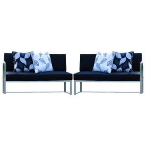 Jan Kurtz - Lux Lounge Sitzkombi - Variante 4 - taupe - outdoor