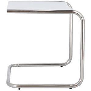Jan Kurtz Möbel Beistelltisch Club weiß, Designer Francesco Favagrossa, 40x40x40 cm