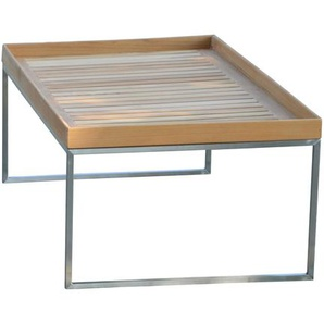 Jan Kurtz - Pizzo Outdoor Teak - Gestell Edelstahl - 110x60 cm