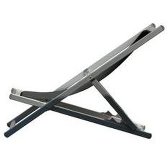 Jan Kurtz - Rimini Deckchair, Aluminium / schwarz